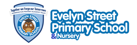 Evelyn Street Primary School logo